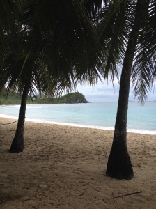 My favorite beach so far. Picture-perfect and virtually deserted.