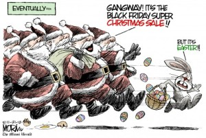 Black Friday Cartoon