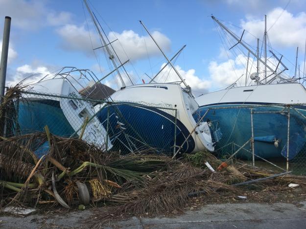 Hurricane Irma Nanny Cay Boats